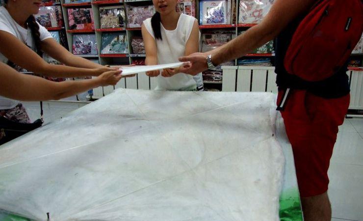 Изготовление шелковых изделий