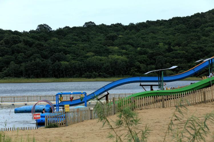 Мини-аквапарк в парке Дюна