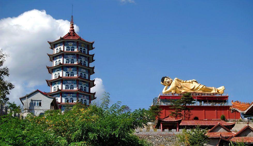Храм Будды в Хуньчуне