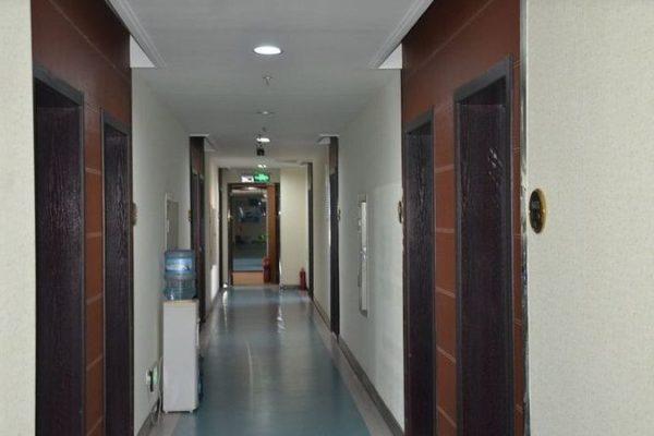 Коридор отделения остеопатии