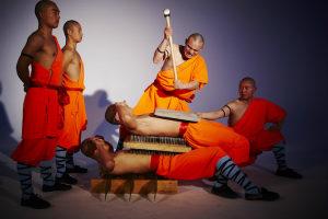 Шоу монахов - кунг-фу