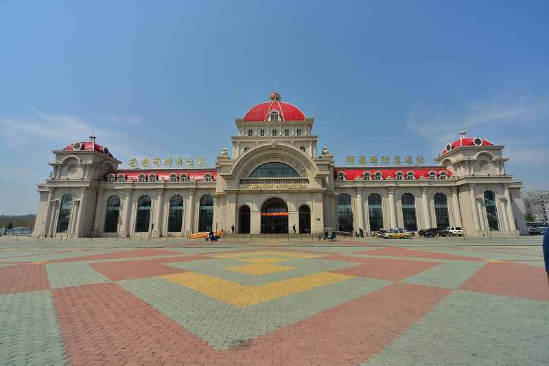 Автовокзал Хуньчуня